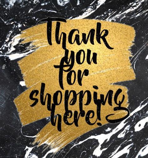 thank-you-for-shopping-card-design-templ