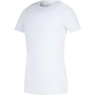 Boys Compression Shirt White Dancewear.j