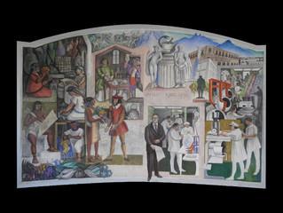 Mural la Historia de la Medicina en el Tec de Monterrey