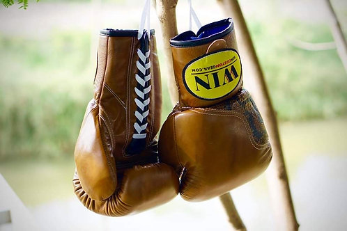 PRO LACE-UP BOXING GLOVES