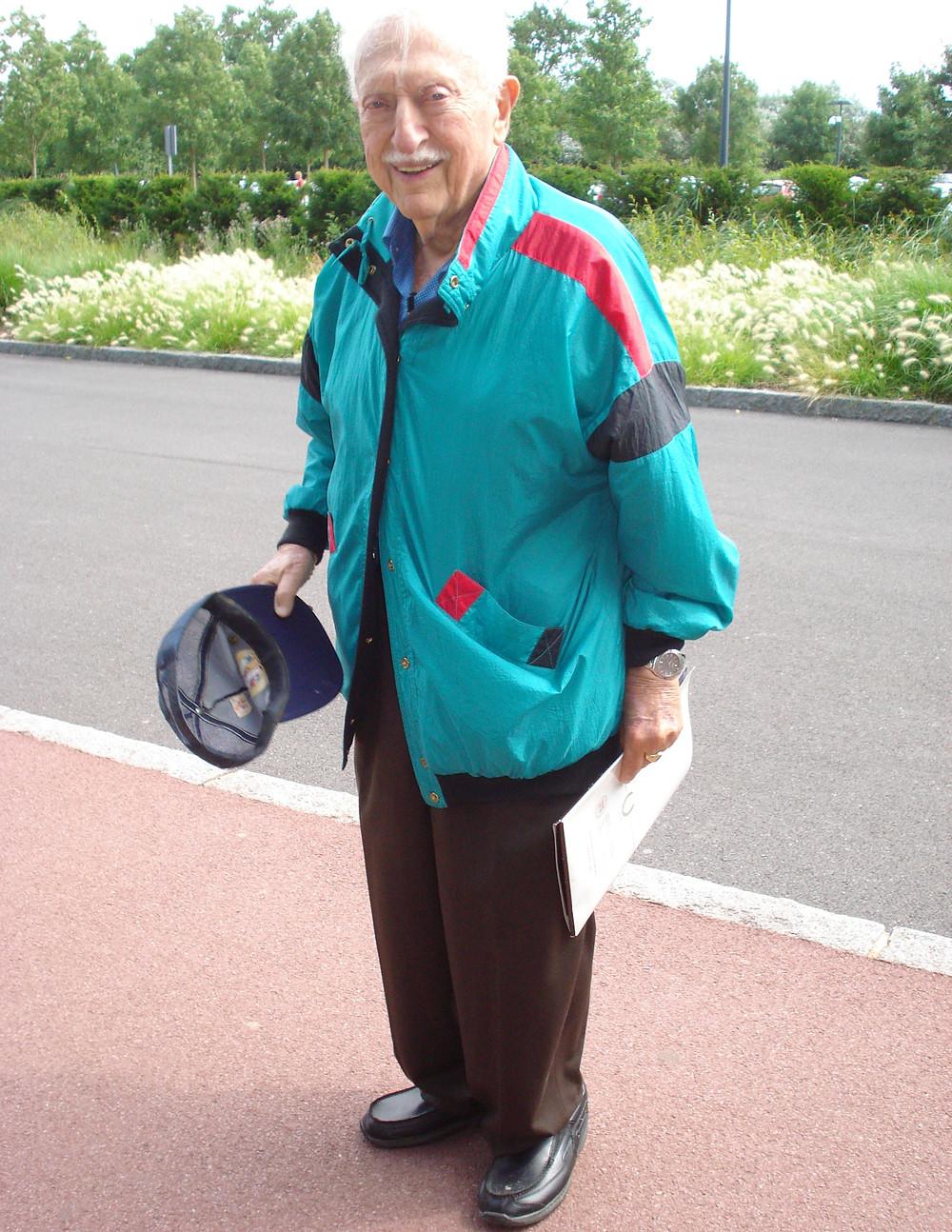 Bob, the veteran on the river cruise