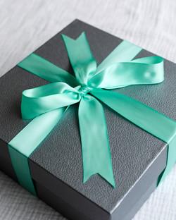 Closed Turquoise Box