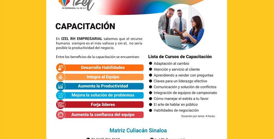 Capacitación IZEL RH Empresarial