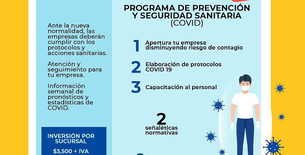 Programa de Prevención y Seguridad Sanitaria (Covid)