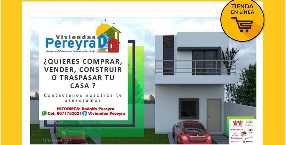 Asesoria Inmobiliaria - Viviendas Pereyra