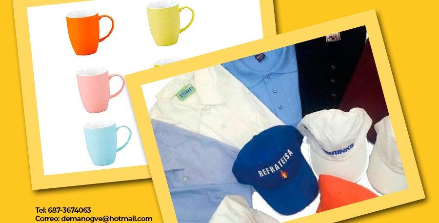 Servicios de Tazas y Gorras Personalizadas