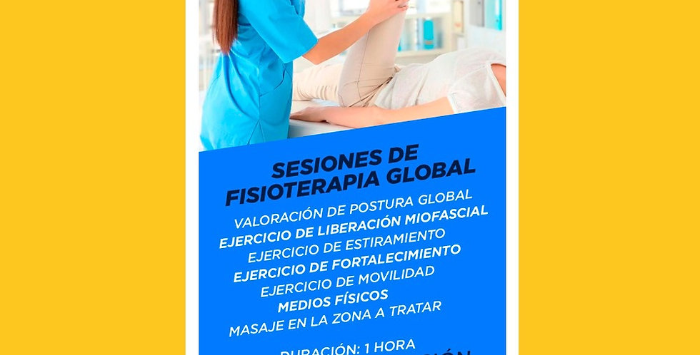 Sesion de Fisioterapia Global