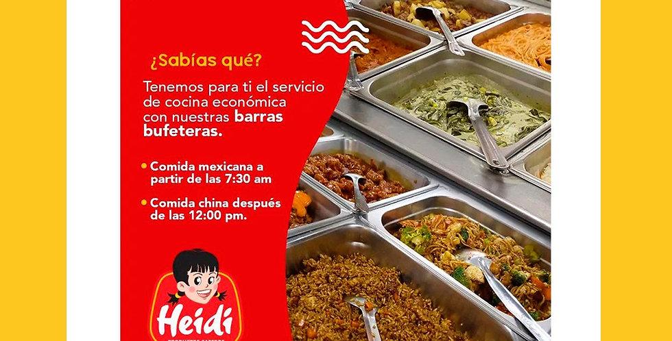 Servicio de Comida Economica  Heidi