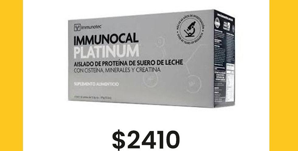 Suplemento Alimenticio Inmunocal Platinum
