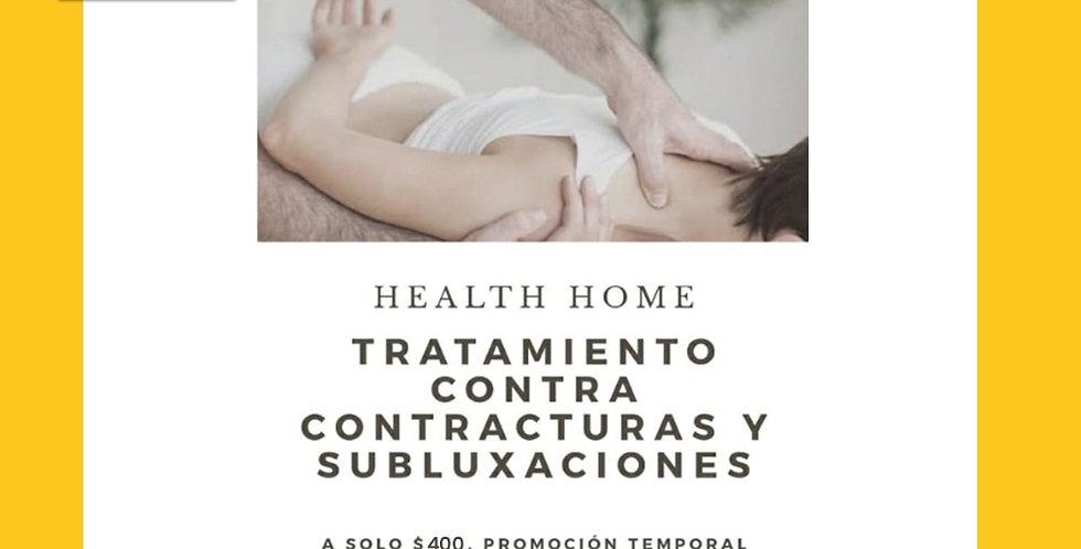 Tratamiento contra contracturas y subluxaciones