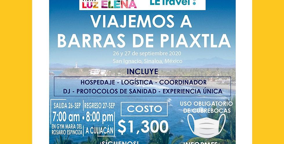 Viaje a Barras de Piaxtla
