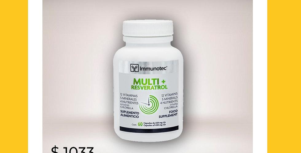 Suplemento Alimenticio Multi+Resveratrol
