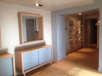 Restructuration complète d'un appartement a la Cité Internationale