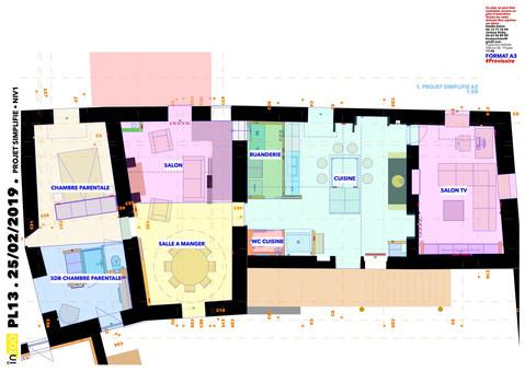 plan d'esquisse phase APS RDC