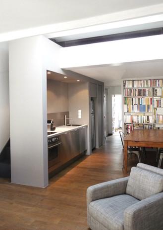 Une architecture interieure minimaliste
