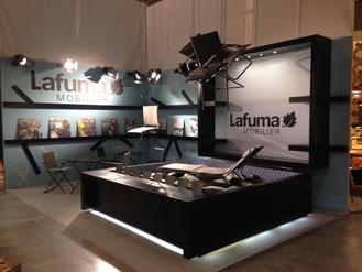 Design du stand Lafuma pour le salon Maisons et Objets