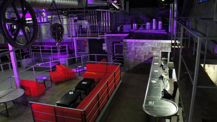 salle de la discotheque LE Bloc Lyon