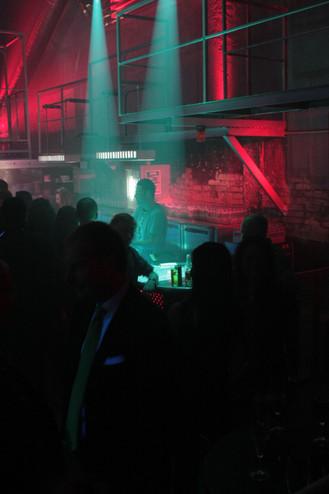 Concept interieur de la discotheque Le Bloc