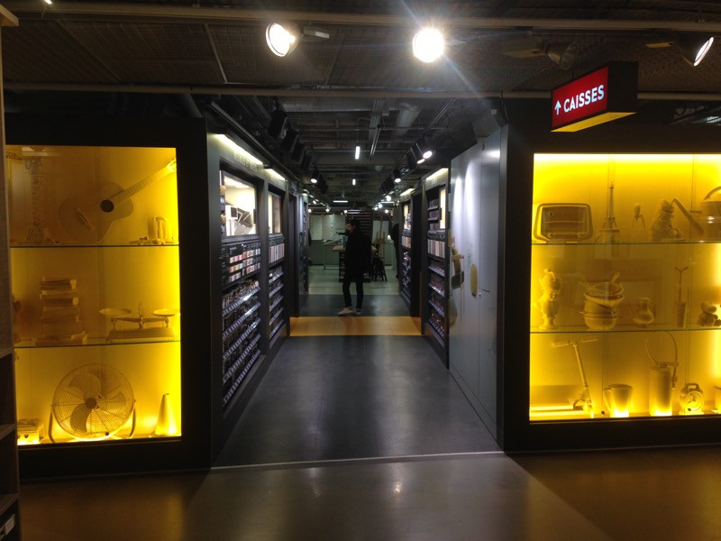 magasin V33 au BHV du Marais