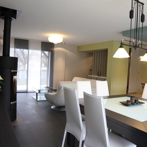 Projet 3 - Une architecture intérieure perméable entre la cuisine et le salon