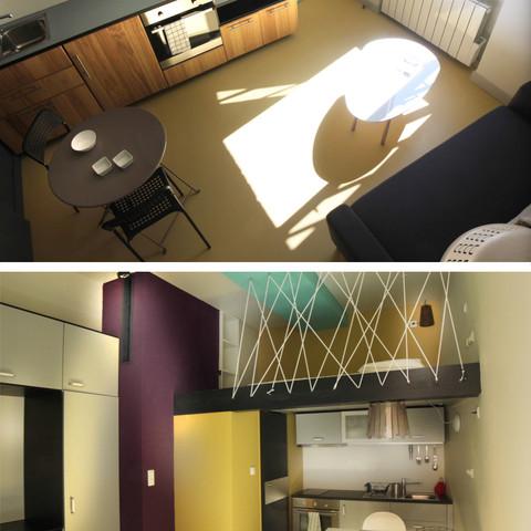 Projet 12 - 2 petits appartements très optimisés