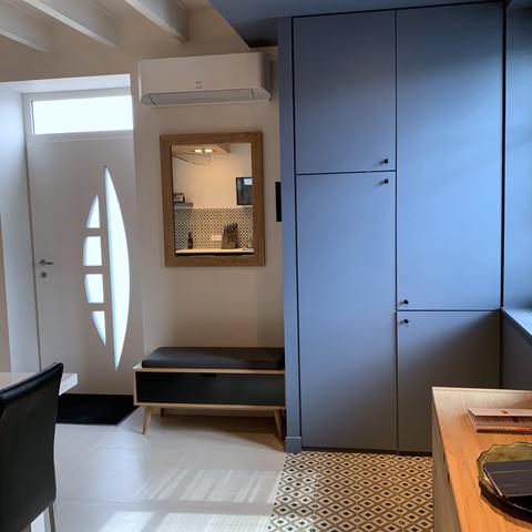 Projet 18 - Amenagement d'un salon cuisine dans une maison