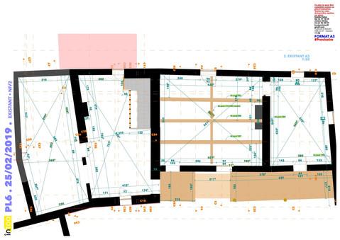 plan d'état des lieux ETAGE