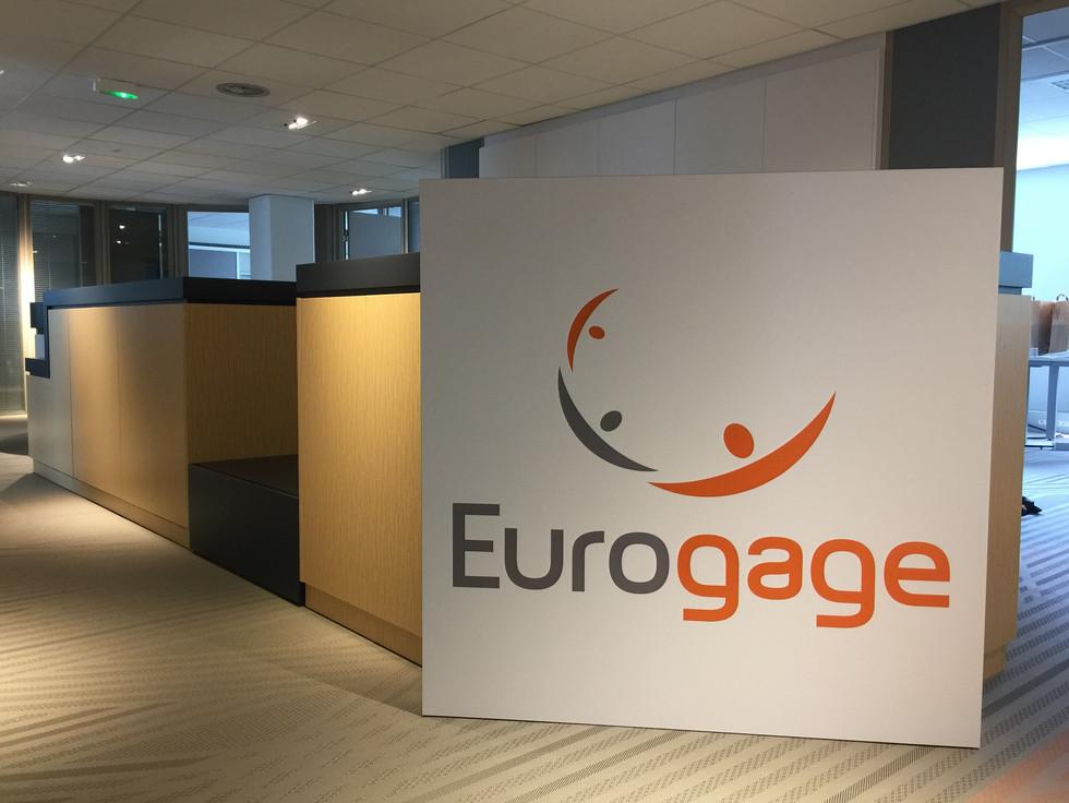 creation des bureaux pour Eurogage