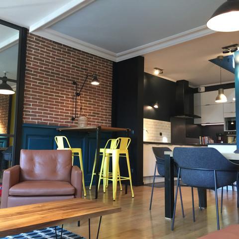 Projet 1 - Rénovation partielle et nouvelle identité d'une maison contemporaine