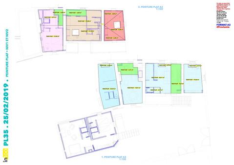 plan de peinture des plafonds
