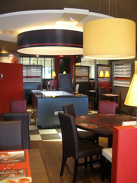 salle de restaurant Poivre Rouge