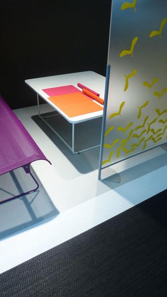 Scenographie et architecture interieure du show-room pour Fermob