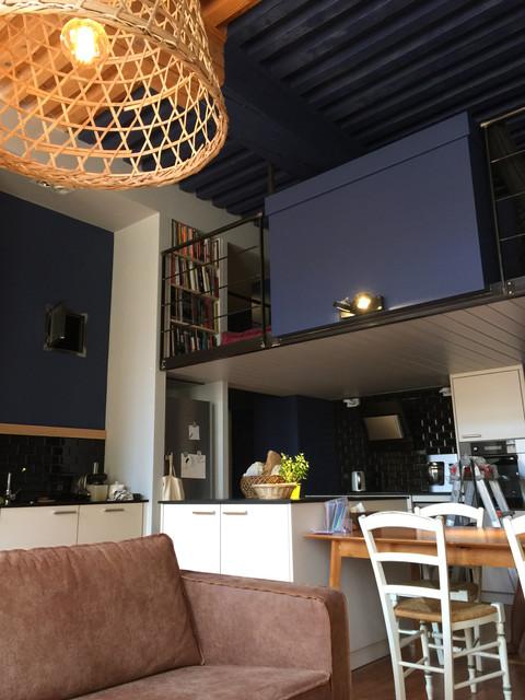 mezzanine sur mesure pour espace tv