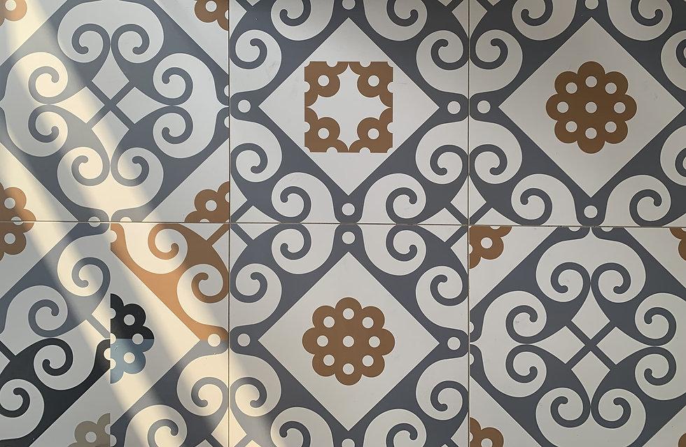 carrelage motif carreaux ciment