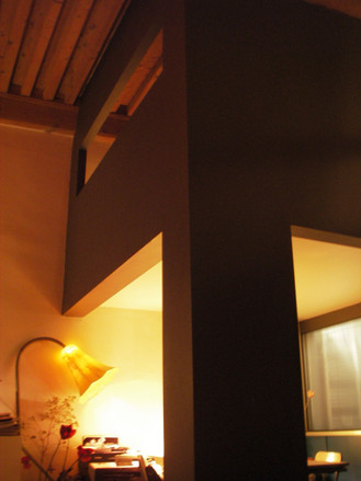 Architecture intérieure veloutée et raffinée