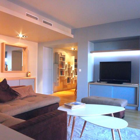 Projet 9 - Restructuration complète d'un appartement a la Cité Internationale