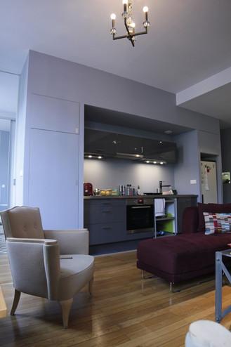 Amenagement intérieur d un petit appartement Canut