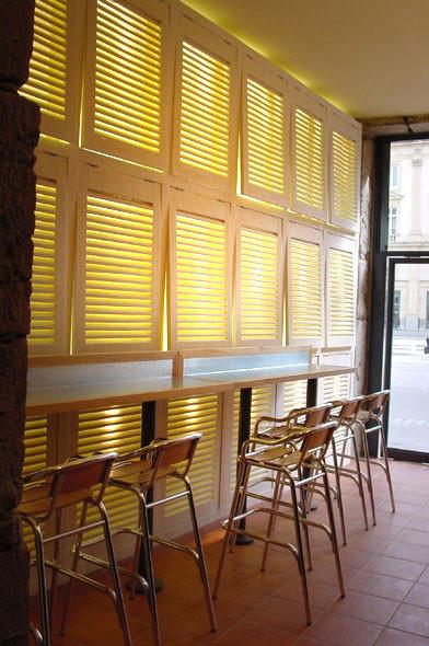 jeux de lumière restaurant Viaggio