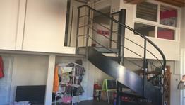 escalier en colimaçon metal sur mesure