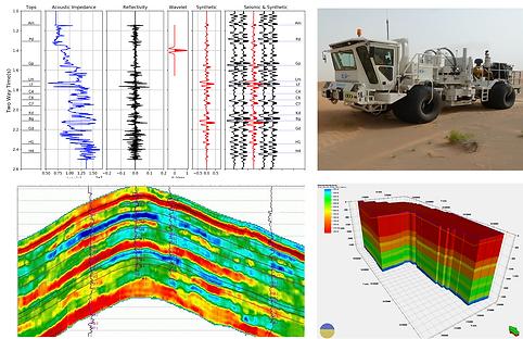 Seismic acquisition, interpretation and inversion, GeoData