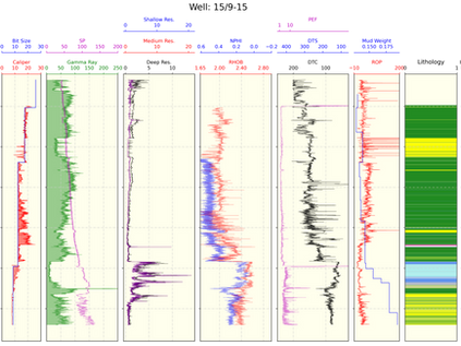Lithology Prediction Using Deep Learning: Force 2020 Dataset: Part.1 (data visualization)