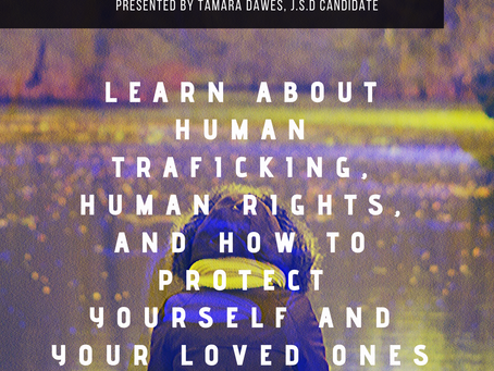 Feb. 1, 2020 @2PM at Dan Pearl Library in Sunrise. A family human trafficking awareness event.