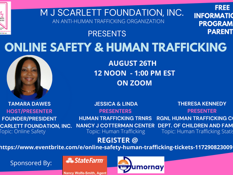 Online Safety & Human Trafficking