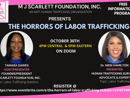 The Horrors of Labor Trafficking