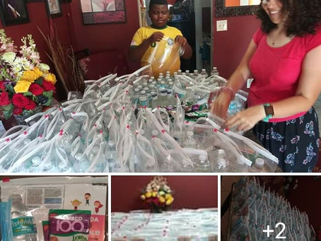Packages of Hope for the Homeless