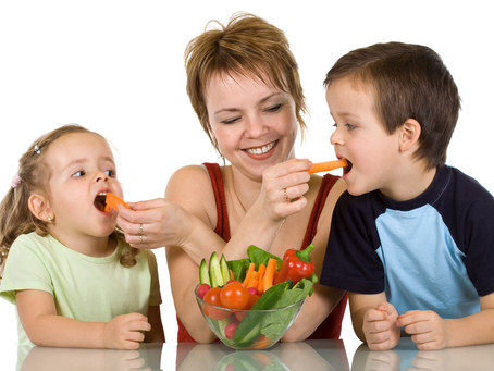 Three Ways to Foster Healthy Eating Habits in Children