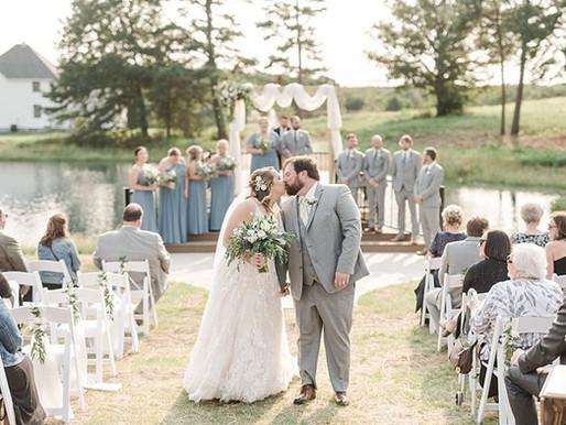 Jessica & Tyler's Lakeside Summer Wedding