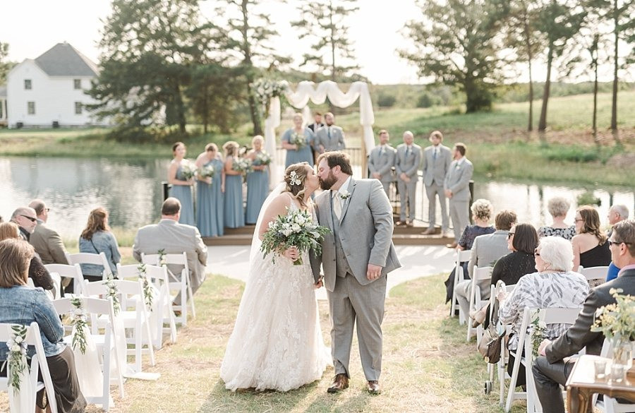 Owensville, Missouri   Red Oak Valley   Summer Wedding