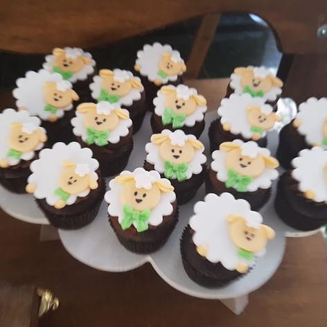 cup cake ovelha