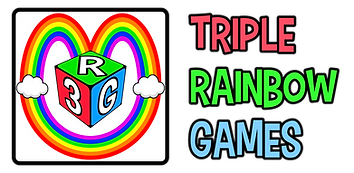 Triple Rainbow Games Logo! - trans BG.pn